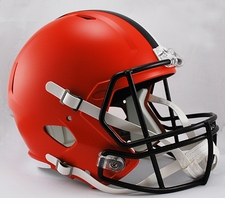 Cleveland Browns Full-Size Deluxe Replica Speed Helmet