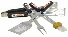 Cleveland Browns Grill BBQ Utensil Set