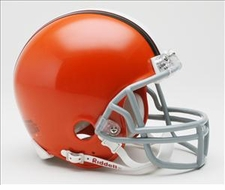 2006-2014 Cleveland Browns Riddell Replica Mini Helmet