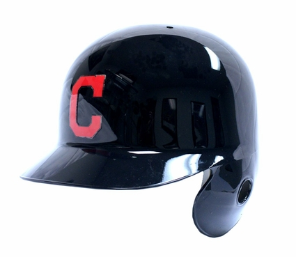 Cleveland Indians C Logo Left Flap Rawlings Authentic Batting Helmet