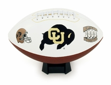 Colorado Buffaloes Full Size Signature Embroidered Football