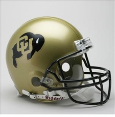 Colorado Buffaloes Riddell Pro Line Authentic Helmet