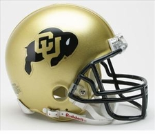 Colorado Buffaloes Riddell Replica Mini Helmet