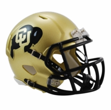 Colorado Buffaloes Riddell Speed Mini Helmet