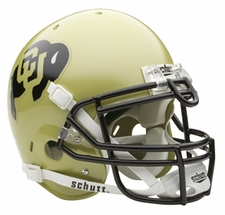 Colorado Buffaloes Schutt Authentic Full Size Helmet