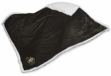 Colorado Buffaloes Sherpa Throw