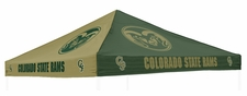 Colorado State Rams Green / Gold Logo Tent Replacement Canopy