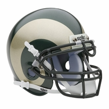 Colorado State Rams Schutt Authentic Mini Helmet
