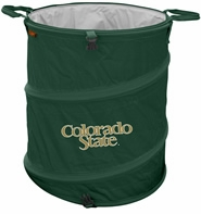 Colorado State Rams Tailgate Trash Can / Cooler / Laundry Hamper