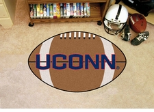 "Connecticut Huskies 22""x35"" Football Floor Mat"