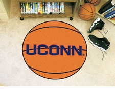 "Connecticut Huskies 27"" Basketball Floor Mat"