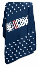 Connecticut Huskies Classic Fleece Blanket