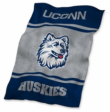 Connecticut Huskies UltraSoft Blanket