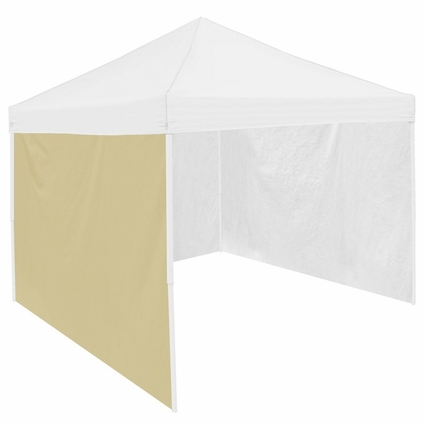 Cream Tent Side Panel for Logo Canopy Tailgate Tents