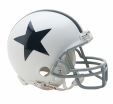 Dallas Cowboys 1960-63 Throwback Replica Mini Helmet