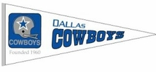 Dallas Cowboys 1960 Throwback Wool Pennant
