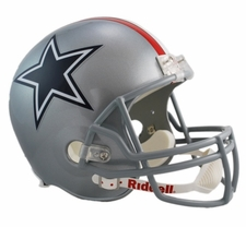 Dallas Cowboys 1976 Throwback Riddell Deluxe Replica Helmet