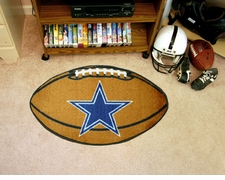 "Dallas Cowboys 22""x35"" Football Floor Mat"