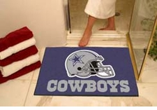 "Dallas Cowboys 34""x45"" All-Star Floor Mat"