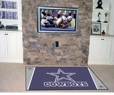 Dallas Cowboys 4'x6' Floor Rug