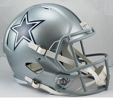 Dallas Cowboys Full-Size Deluxe Replica Speed Helmet