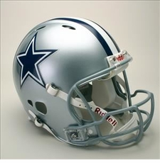 Dallas Cowboys Full Size Riddell Revolution NFL Helmet