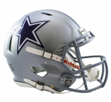 Dallas Cowboys Revolution Speed Riddell Authentic Helmet