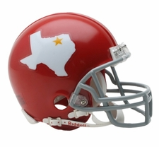 Dallas Texans 1960-62 Throwback Replica Mini Helmet