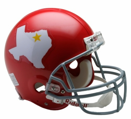 Dallas Texans 1960-62 Throwback Riddell Pro Line Helmet