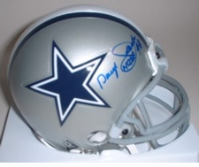 Daryl Johnston Dallas Cowboys Autographed Mini Helmet