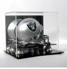 Deluxe Acrylic Mini Football Helmet Display Case