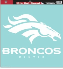Denver Broncos 18 x 18 Die-Cut Decal