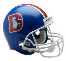 Denver Broncos 1975-96 Throwback Riddell Pro Line Helmet