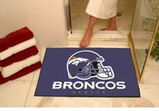"Denver Broncos 34""x45"" All-Star Floor Mat"
