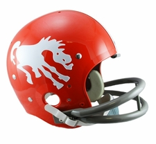 Denver Broncos Classic TK 1962-65 Throwback Riddell Replica Helmet
