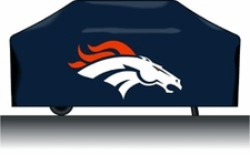 Denver Broncos Deluxe Barbeque Grill Cover
