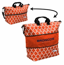 Denver Broncos  - Expandable Tote (patterned)