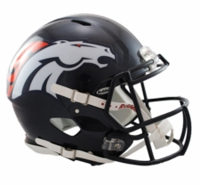 Denver Broncos Revolution Speed Riddell Authentic Helmet