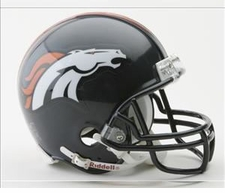 Denver Broncos Riddell Replica Mini Helmet