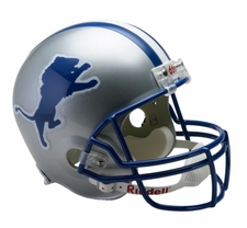 Detroit Lions 1983-2002 Throwback Riddell Deluxe Replica Helmet