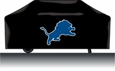 Detroit Lions Deluxe Barbeque Grill Cover