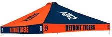 Detroit Tigers Navy Logo Tailgate Tent Replacement Canopy Top
