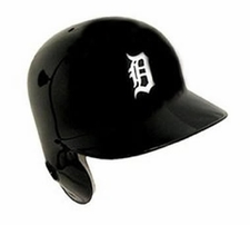 Detroit Tigers Right Flap Rawlings Authentic Batting Helmet