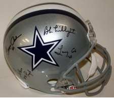 Doomsday Defense Dallas Cowboys Autographed Full Size Replica Helmet
