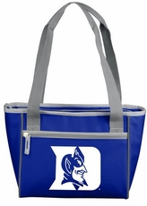 Duke Blue Devils 16 Can Cooler Tote