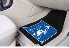 Duke Blue Devils 2-Piece Carpeted Car Mats Front Set