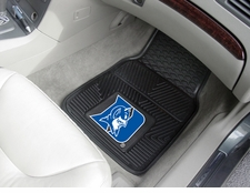 Duke Blue Devils 2-Piece Heavy Duty Vinyl Car Mat Set