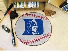 "Duke Blue Devils 27"" Baseball Floor Mat"