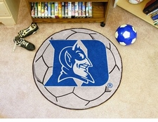 "Duke Blue Devils 27"" Soccer Ball Floor Mat"