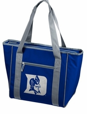 Duke Blue Devils 30 Can Cooler Tote